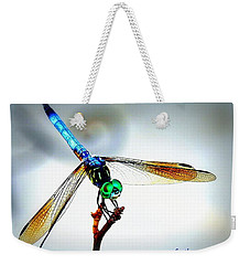 Fly Dragon Weekender Tote Bag by Faith Williams