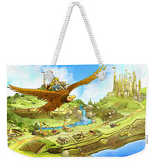Flying On Polly Over Capira Weekender Tote Bag by Reynold Jay