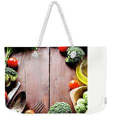 Food Ingredients Weekender Tote Bag