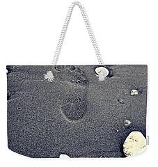 Footprint Weekender Tote Bag by Nina Ficur Feenan