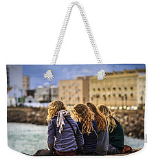 Foreign Students Cadiz Spain Weekender Tote Bag