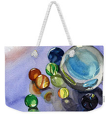 Found My Marbles Weekender Tote Bag by Lynne Reichhart