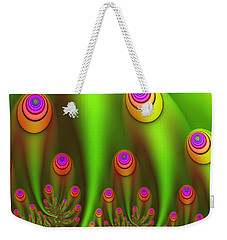 Fractal Fantasy Garden Weekender Tote Bag by Gabiw Art
