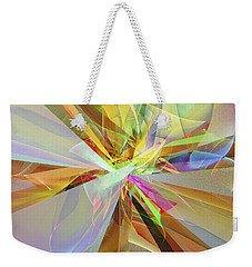 Fractal Fantasy Weekender Tote Bag by Klara Acel