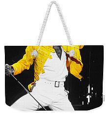 Freddie Mercury Live In Wembley1986    Weekender Tote Bag