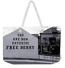 Free Derry Corner 7 Weekender Tote Bag