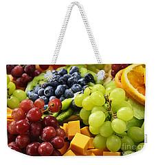 Fresh Fruits Weekender Tote Bag