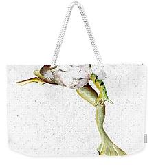 Frog On Waterline Weekender Tote Bag