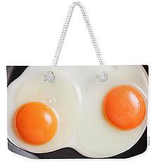 Frying Eggs Weekender Tote Bag