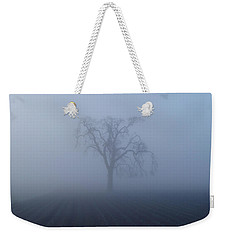 Garry Oak In Fog  Weekender Tote Bag