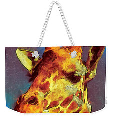 Giraffe Abstract Weekender Tote Bag