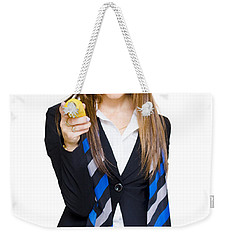 Going Bananas Over Business Weekender Tote Bag