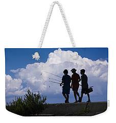 Going Fishing Weekender Tote Bag