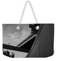Weekender Tote Bag featuring the photograph Going Under by Jamie Lynn