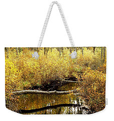 Golden Creek Weekender Tote Bag