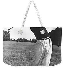 Golfer Sam Snead Weekender Tote Bag