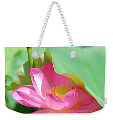 D48l-96 Water Lily At Goodale Park Photo Weekender Tote Bag