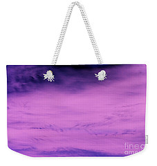 Weekender Tote Bag featuring the photograph Gravity Pull by Jamie Lynn