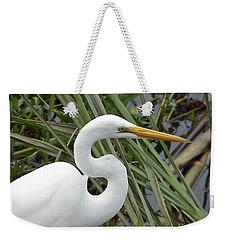 Great Egret Close Up Weekender Tote Bag