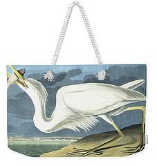 Great White Heron Weekender Tote Bag by John James Audubon