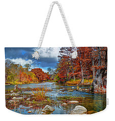 Guadalupe In The Fall Weekender Tote Bag