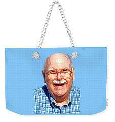 Happy Old Artist Weekender Tote Bag