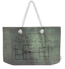 Harleigh Holmes Automobile Patent From 1932 Weekender Tote Bag