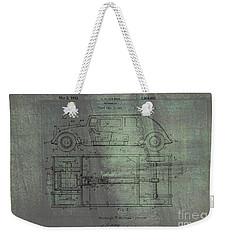 Harleigh Holmes Original Automobile Patent  Weekender Tote Bag