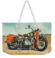 Harley Davidson Wla 1942 Weekender Tote Bag