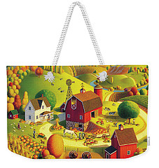 Harvest Bounty Weekender Tote Bag by Robin Moline