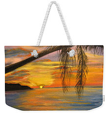 Hawaiian Sunset 11 Weekender Tote Bag