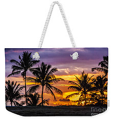 Hawaiian Sunset Weekender Tote Bag by Juli Scalzi