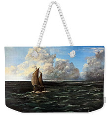Heading For Shore Weekender Tote Bag