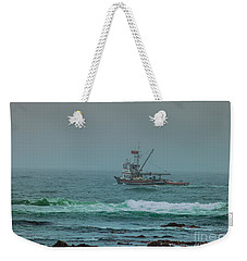 Weekender Tote Bag featuring the photograph Heading Out by Steven Reed