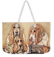 Hess'er Puppies Weekender Tote Bag