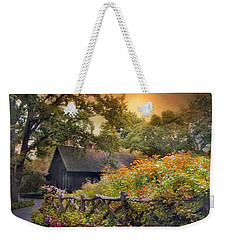Weekender Tote Bag featuring the photograph Hidden Charm by Jessica Jenney