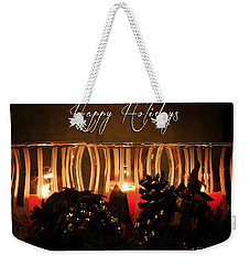 Holiday Glow Weekender Tote Bag