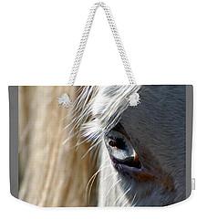Horse Eye Weekender Tote Bag by Savannah Gibbs