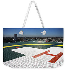 Hospital Helipad Weekender Tote Bag