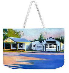 Huckstep's Garage Free Union Virginia Weekender Tote Bag by Catherine Twomey