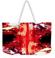 Weekender Tote Bag featuring the digital art Humbling River by Joel Loftus