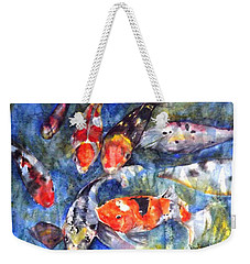 Hungry Koi Weekender Tote Bag