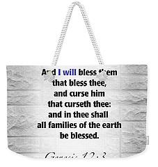I Will Weekender Tote Bag