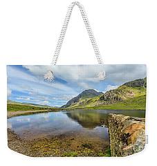Idwal Lake Snowdonia Weekender Tote Bag