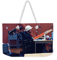 Weekender Tote Bag featuring the photograph In Studio by Donald J Ryker III