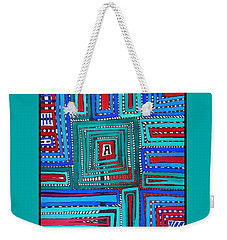 In The Middle Weekender Tote Bag
