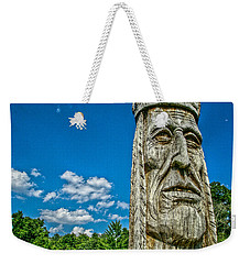 Indian Chief Charlestowne Landing Weekender Tote Bag