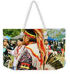 Indian Finery Weekender Tote Bag by Marilyn Diaz