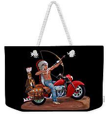 Indian Forever Weekender Tote Bag by Glenn Holbrook