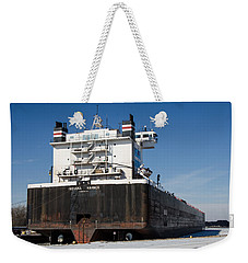 Indiana Harbor 4 Weekender Tote Bag by Susan  McMenamin